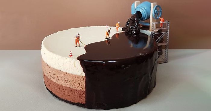This 26-Year-Old Can Turn Any Boring Dessert Into An Adorable Miniature Scene