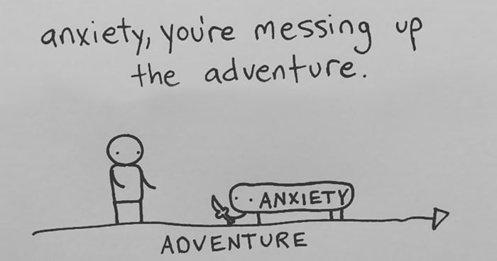 I Draw Minimalist Comics About My Mental Health To Help People Feel Less Alone (35 Pics)