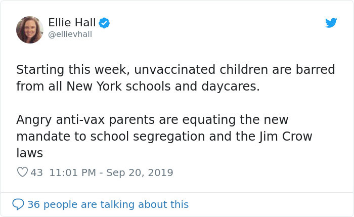 New York Bans Unvaccinated Children From Going To School And Their Anti-Vaxx Parents Are Furious