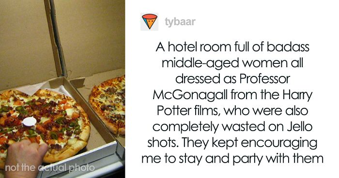 Pizza Delivery Girl Recalls 32 Of The Most Memorable