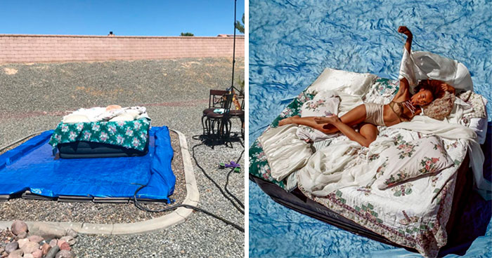 Instagram Model Crafts Incredibly Detailed Photo Shoot Sets That She Later Uses To Take Self-Portraits (30 Pics)