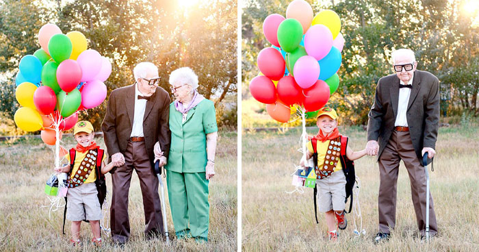 Mom Thought She Won't Live To See Her Kids Turning 5, Celebrates It With 'Up' Themed Photo Shoot