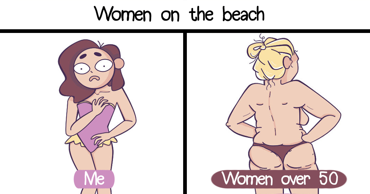 My 40 Comics That Illustrate Everyday Girls' Problems In A Funny Way (New Pics)