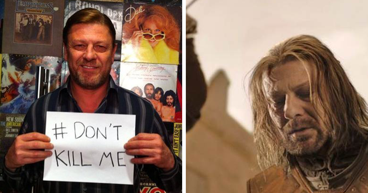 After Being Killed 23 Times On Screen Sean Bean Rejects Roles Where His Character Is Killed