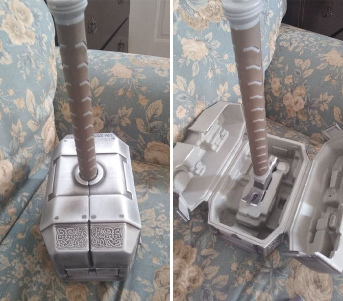 Found This Gem And Couldn't Believe My Eyes. Paid $10 For It, Thought It Was Just His Hammer Till I Saw Those Clasps