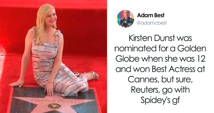 People Create 14 Memes Celebrating Female Actresses In Response To 'Sexist' Tweet About Kirsten Dunst