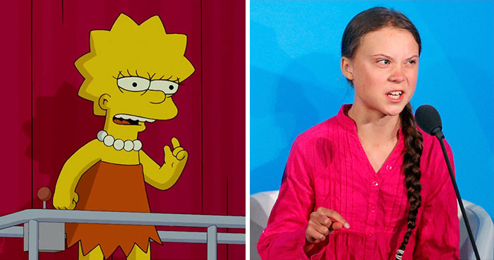 The Simpsons Did It First: People Think The Iconic Show Predicted Greta Thunberg