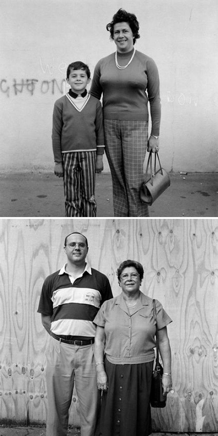 Peter (Left) And Susie Gatesy (Right), 1974 And 2000