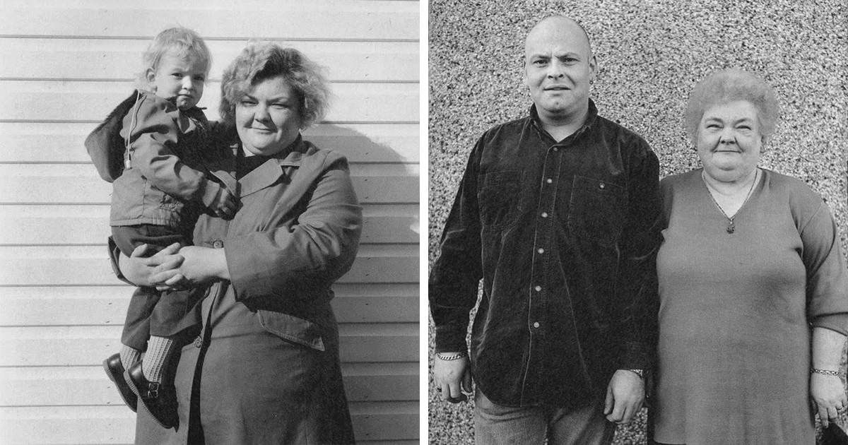 Now And Then: Photographer Recreates Portraits Of Strangers He Met On The Streets 25 Years Ago