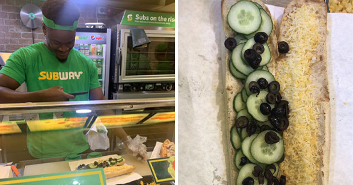This Woman Drunk-Ordered A Subway Sandwich And It Was So Crazy, The Subway Worker Had To Take A Picture