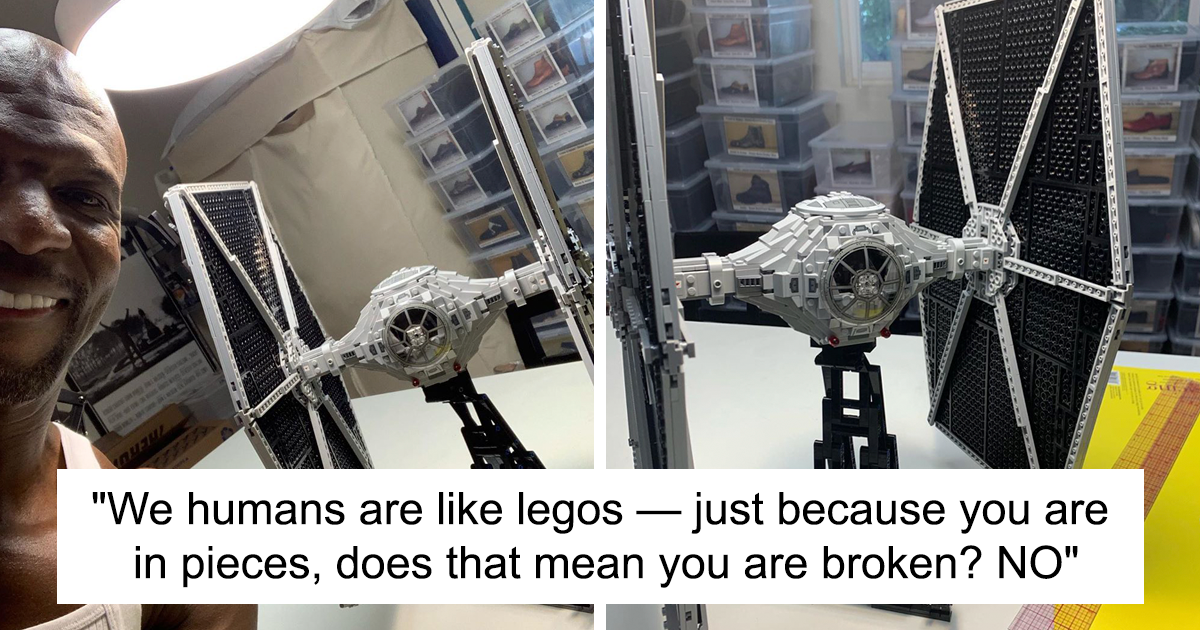 Terry Crews Completes Star Wars Lego And Uses It As An Analogy To Motivate People
