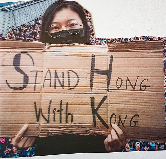 Stand Hong With Kong