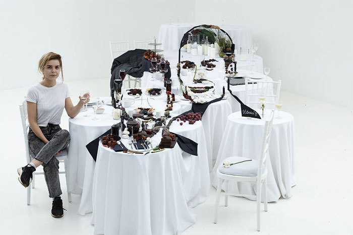 Artist Creates A 3D Food Art Piece Depicting Ronaldo And Messi, In Anticipation Of Their Visit To Vilnius