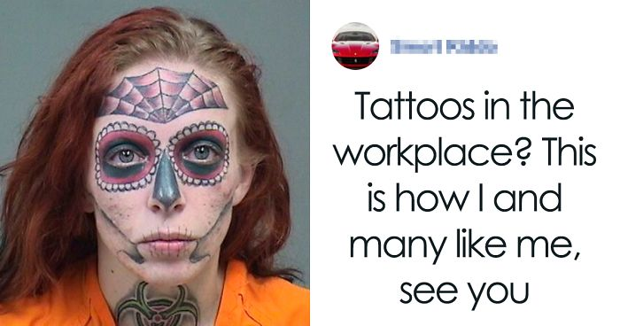 Guy Rants About Tattoos In A Workplace, Gets Shamed For His Own Unprofessional Pic