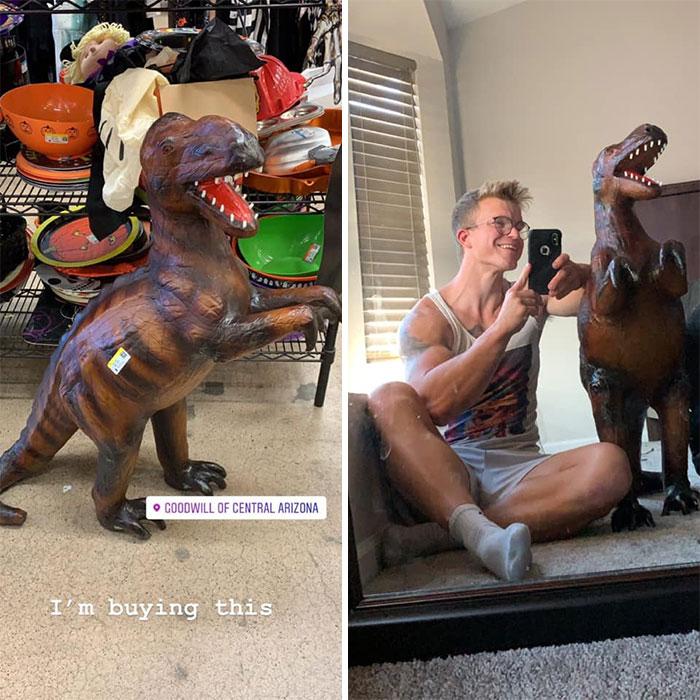 I Found A Baby Dinosaur