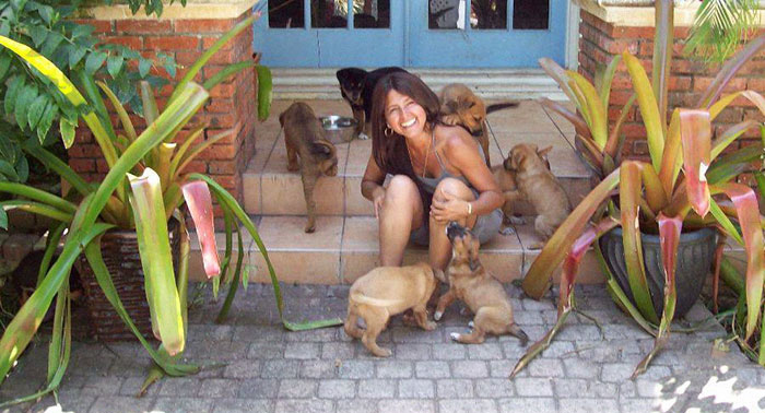 Woman Shelters 97 Stray Dogs In Her House While A Category 5 Storm Rages Outside