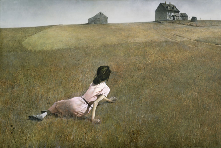 Christina's World, Andrew Wyeth, 1948