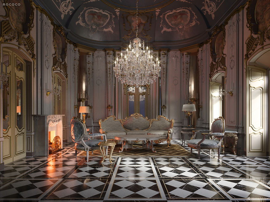 12 Pictures Illustrate The Change In Home Interior Fashion Over 600 Years