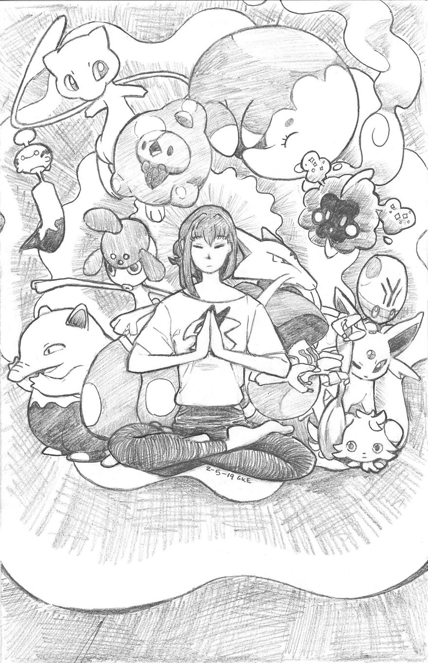 Psychic-Type - Good Vibes Only In Chickie's Yoga Class!