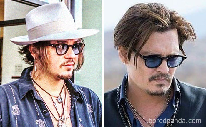 Look-Alike And Johnny Depp