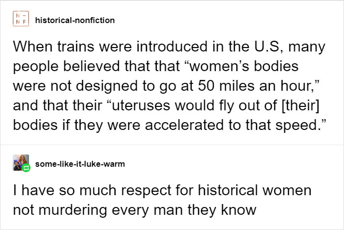 Man, My Uterus Would Be Long Gone The Way I Drive