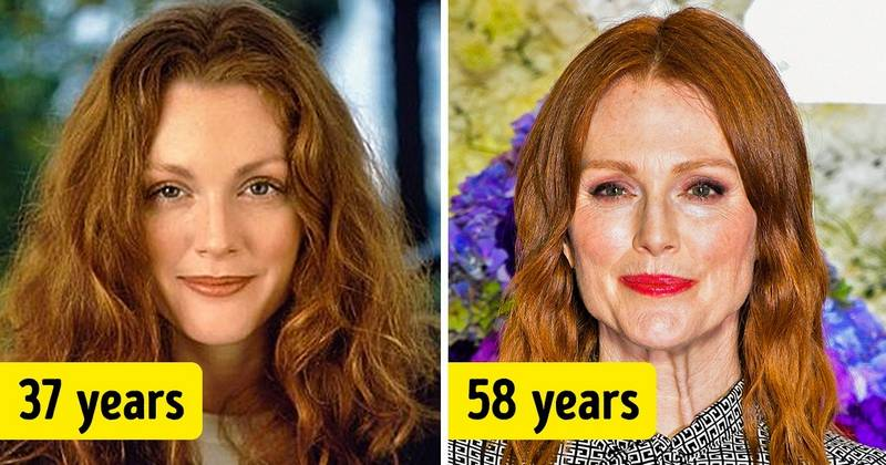 19 Famous Women Over 50 Who've Never Had Plastic Surgery