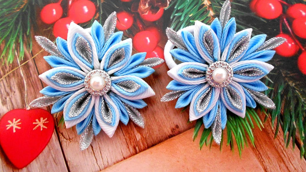 How To Make Christmas Hair Accessories