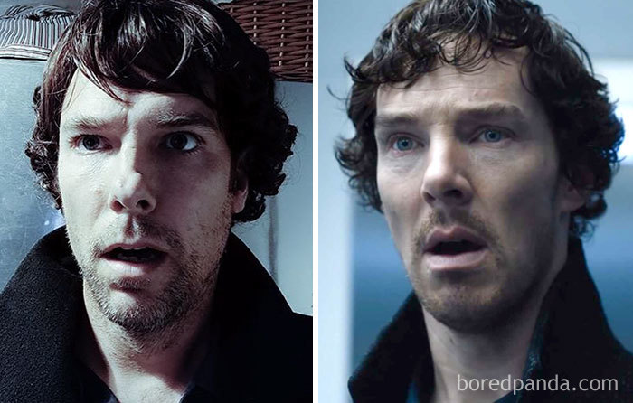 Look-Alike And Benedict Cumberbatch