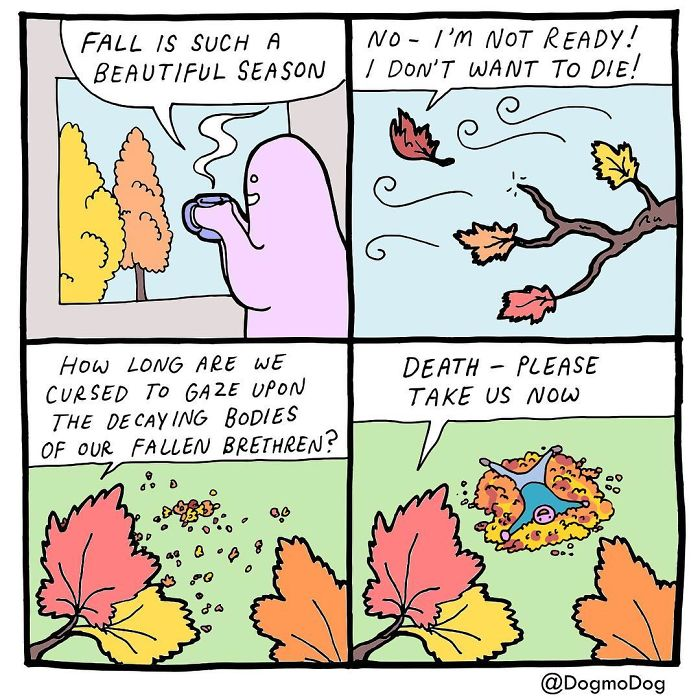 American Artist Creates Fun Comics To Make Reflections About Our Daily Lives