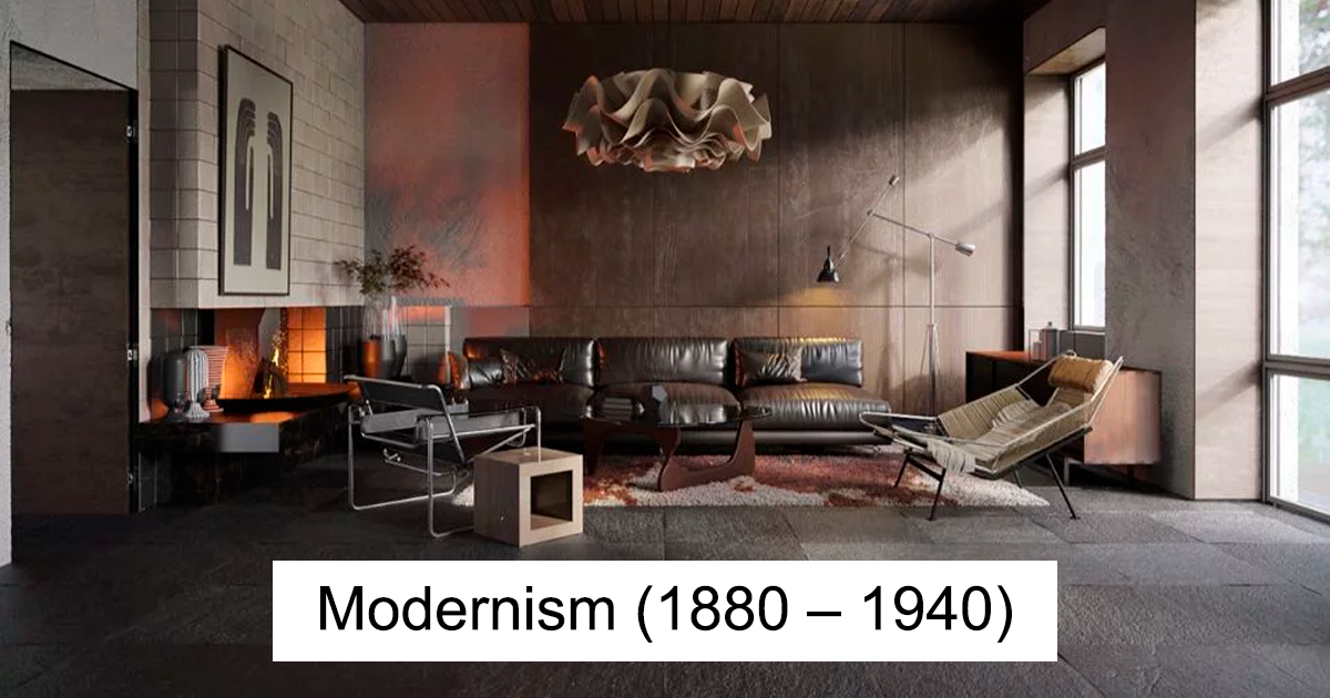 12 Pictures Illustrate The Change In Home Interior Fashion Over 600 Years Bored Panda