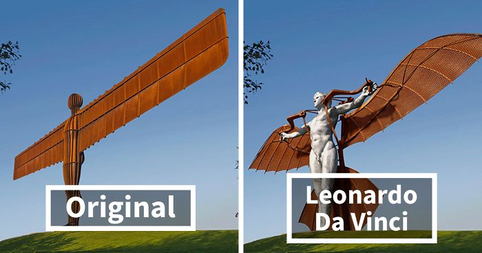 How Famous UK Landmarks Would Look If They Were Designed By These Famous People