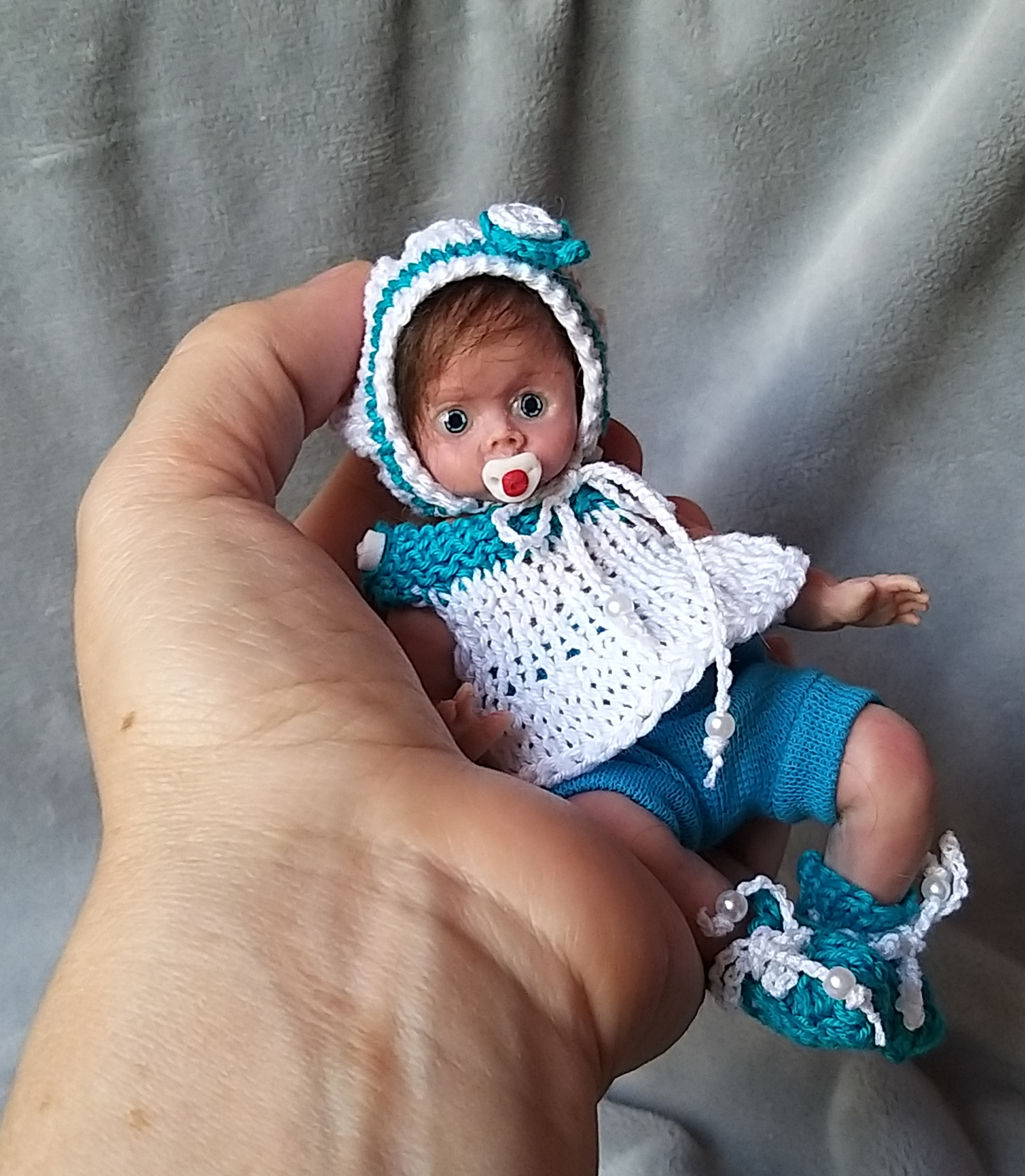 Miniature Reborn Full Silicone By Kovalevadoll