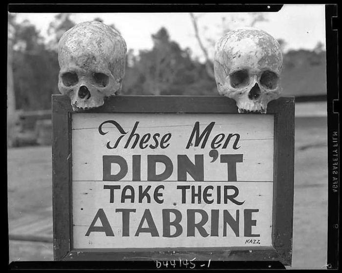 Advertisement For An Anti-Malaria Medicine (1941)
