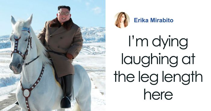 People Are Laughing At How Cute Kim Jong-Un's Legs Look In His Latest Supposed-To-Be-Epic Photo Shoot