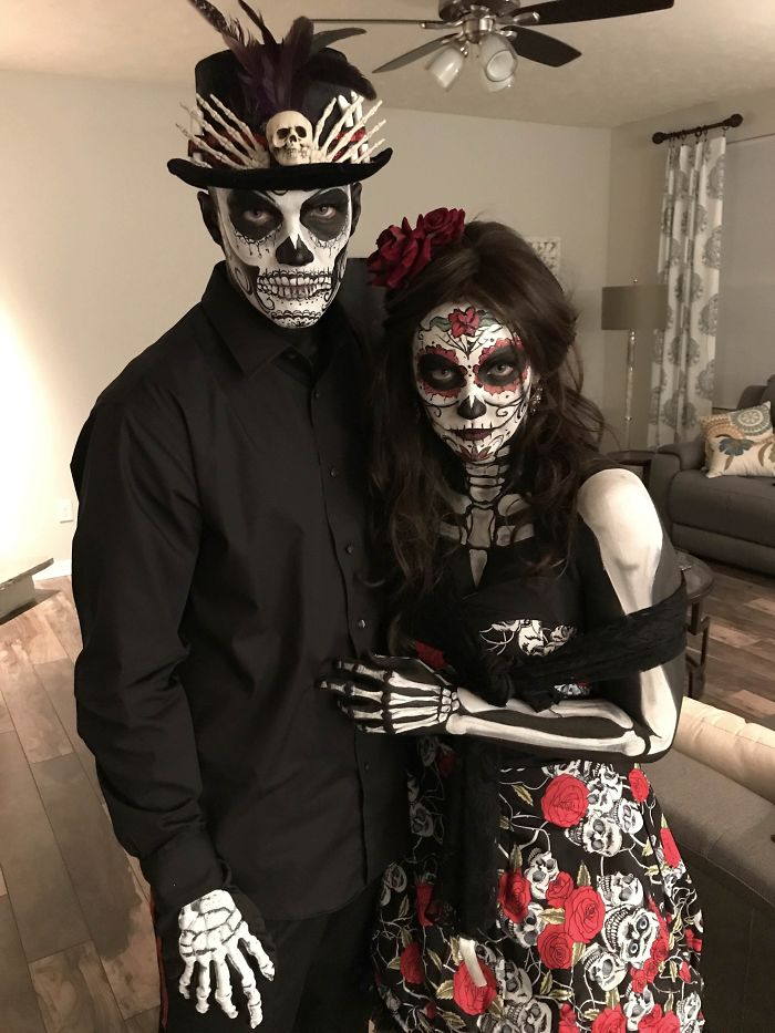 Our Day Of The Dead Costumes