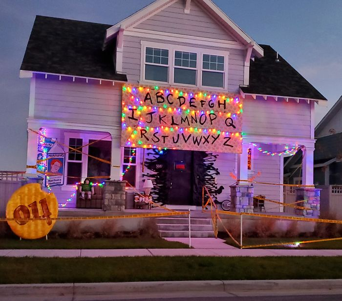 Found This House While Driving Around Looking At Halloween Decorations