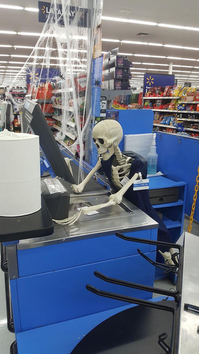This Halloween Decor At My Wal-Mart