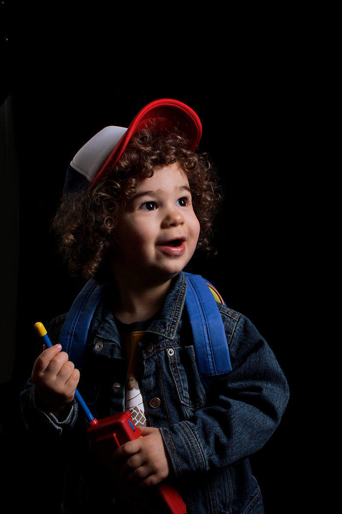 Mini Dustin For Halloween
