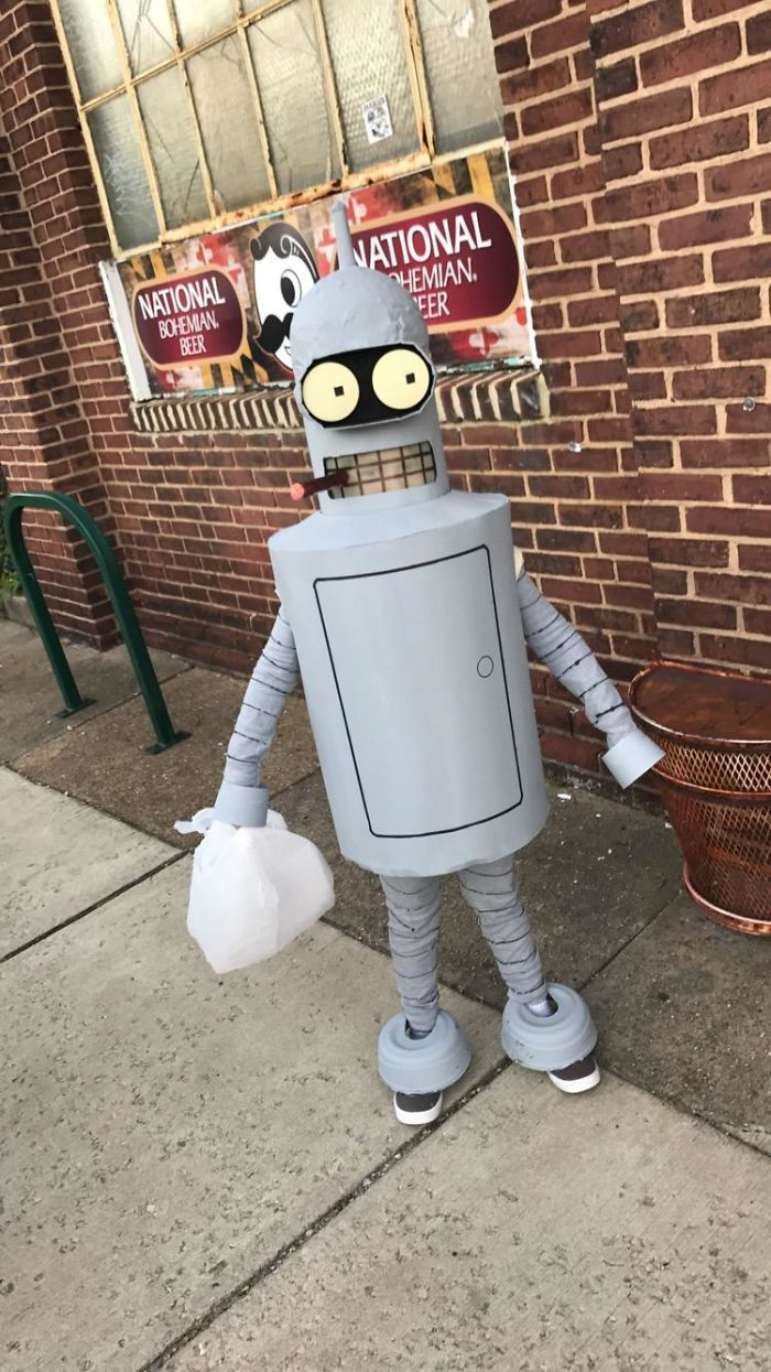 """I Told A Kid In My Neighborhood I Loved His Costume. He Replied With Asking Me If I Would """"Bite His Shiny Metal Butt"""""""