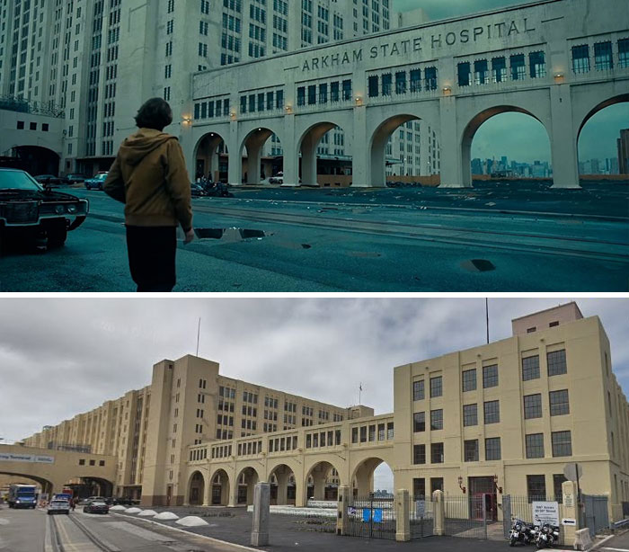 In Real Life, Arkham State Hospital Is The Brooklyn Army Terminal Annex Building