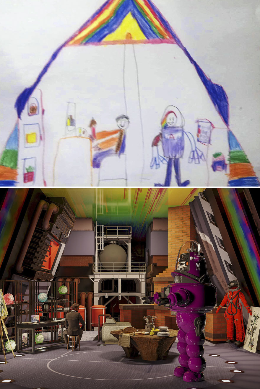 Ethan (7), Philippines – Artist, Astronaut, Baker