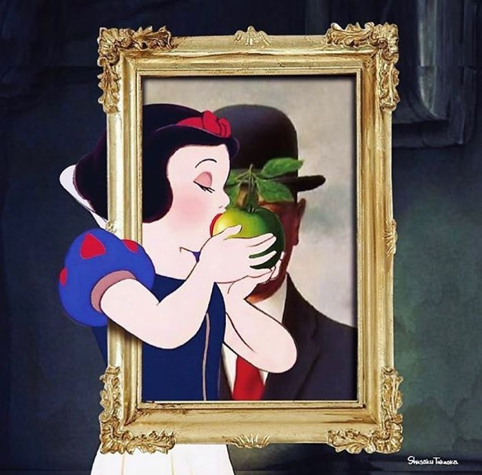 Artist Makes Politically Incorrect Collages Of Disney Characters And This Will Affect His Childhood