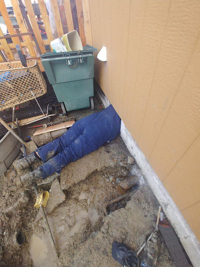 Big Apprentice, Small Crawl Space