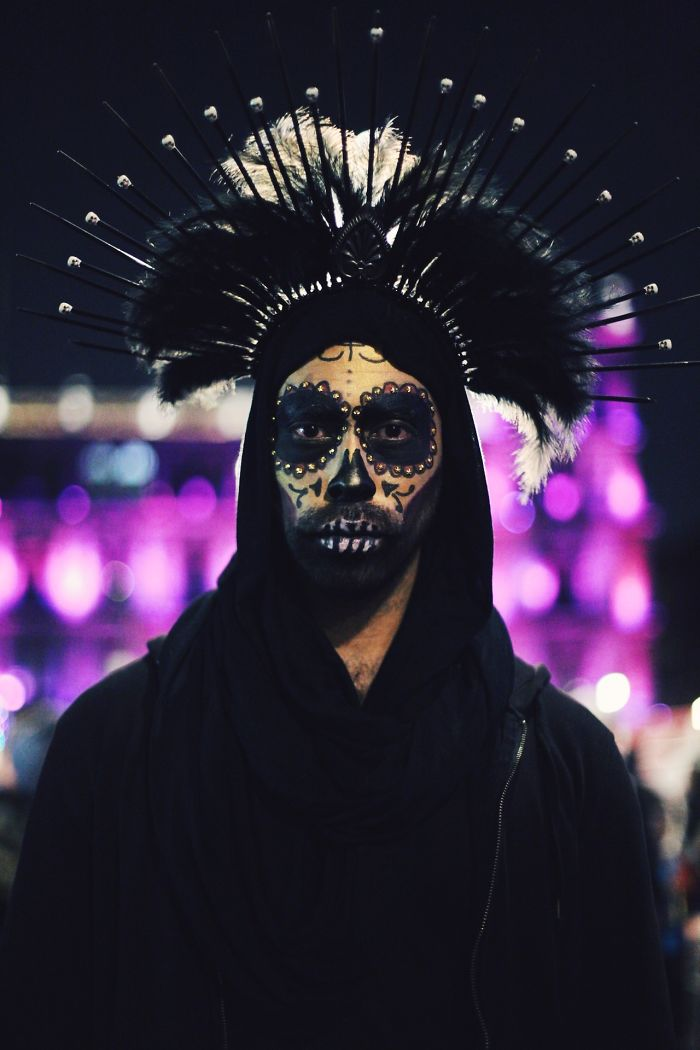 Day Of The Dead In My Town