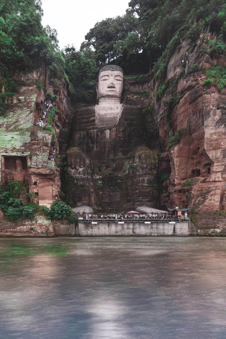 Leshan Giant Buddha, China
