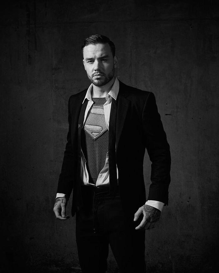 Liam Payne As Superman