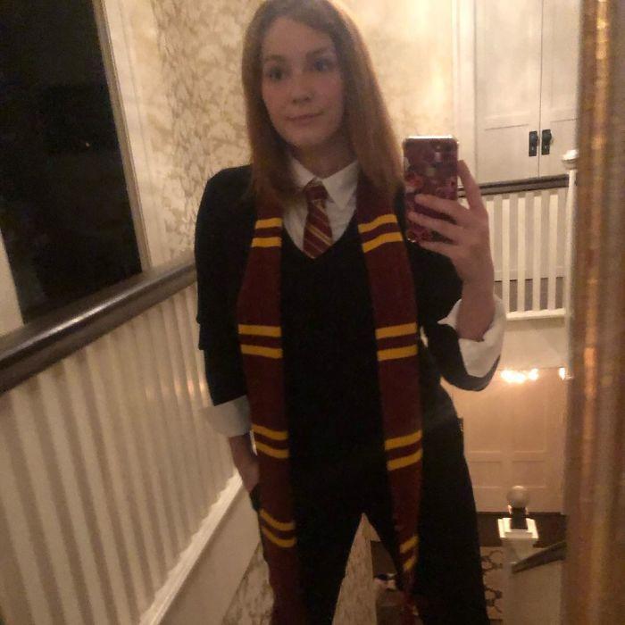 Christina Hendricks As Ginny Weasley