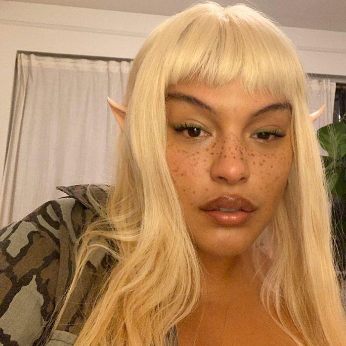 Paloma Elsesser As An Elf