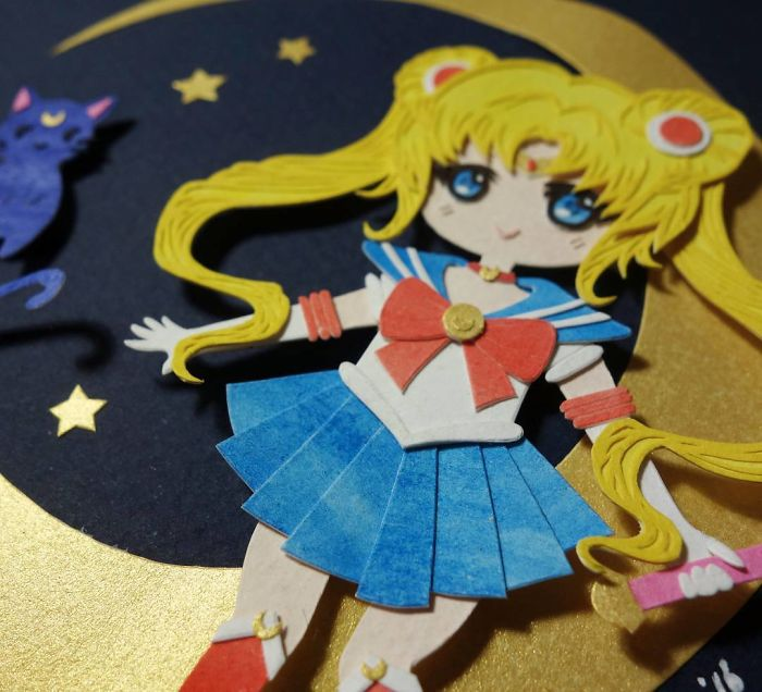 Aaaaaaa Applied For Smash This Year, So Fingers Crossed I Get Accepted!! ( ง • ̀ω•́ )ง ✧ Also Feeling In A Sailor-Moony Mood So Little Paper Sailor Suits Might Be Popping Up Soon! 🌙🌟 #smashcon #sailormoon #paper #papercutting #cutoodle