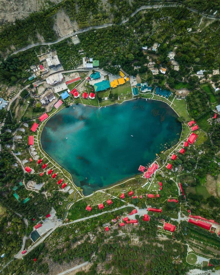 Beautiful Shangrila Lake, Muhammad Hassaan, Pakistan